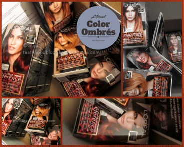 Ombres Loreal Rot Kupfer Wild Ombres