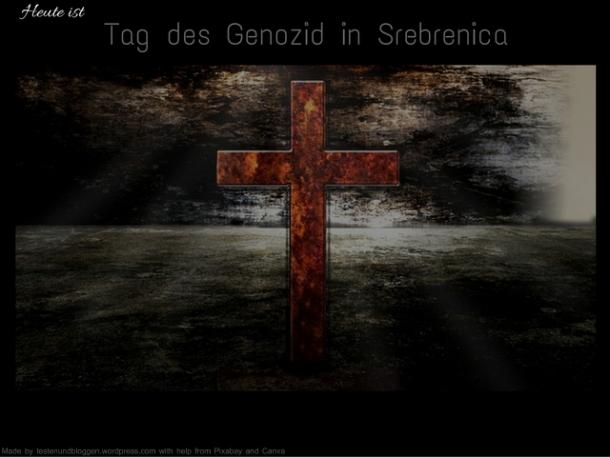 Tag des Genozid in Srebrenica