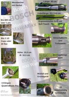 Bosch MaxoMixx Test Fakten