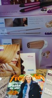 Philips MoistureProtect Hartrockner Haarglätter Multi-Styler