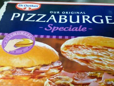 Dr. Oetker Pizzaburger Speciale
