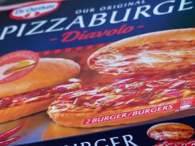 Dr. Oetker Pizzaburger Diavolo