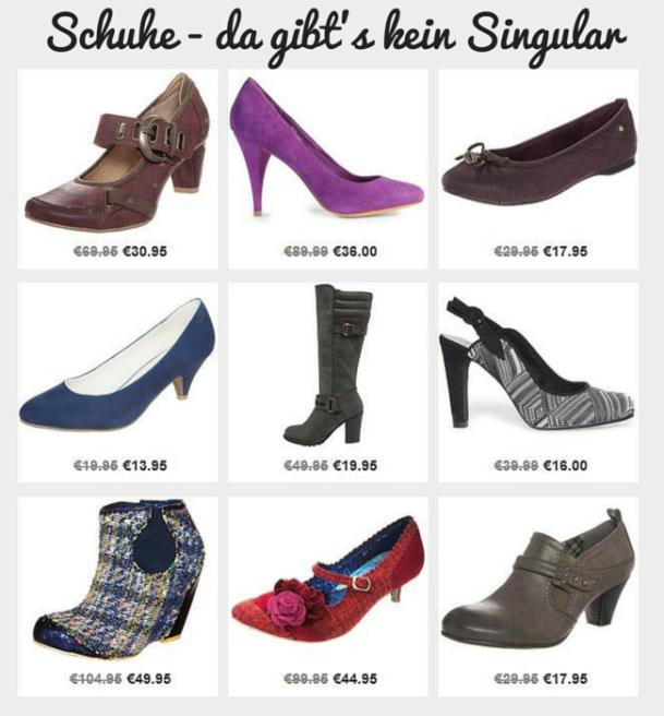 Günstige Schuhe im Sale Ausverkauf mit Schnäppchen