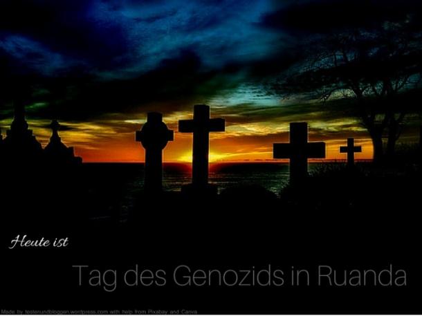 Tag des Genozids in Ruanda