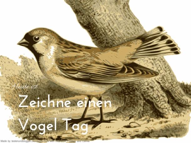 Zeichne einen Vogel Tag