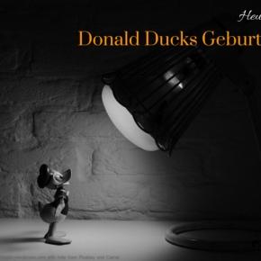 Heute ist: Donald DucksGeburtstag