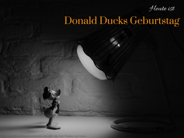 Donald Duck Geburstag