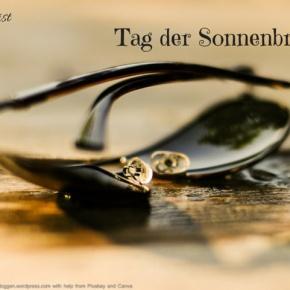 Heute ist: Tag derSonnenbrille