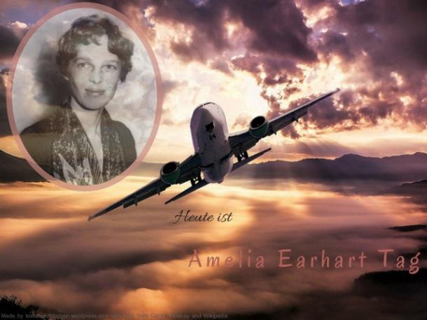 Amelia Earhart Tag