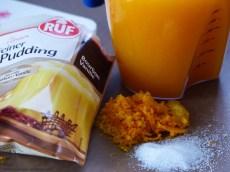 Orangenpudding mit Baiserhaube Rezept