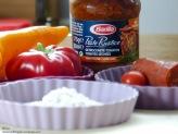 Barilla Pesto Rustico Pizza getrocknete Tomaten