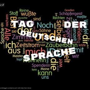Heute ist: Tag der deutschenSprache