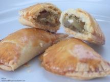 Barilla Pesto Rustico Mpourekakia Mini-Pasteten Aubergine mit Kräutern