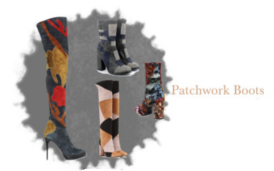 Schuhe Trend im Herbst Patchwork