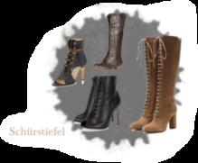 Schuhe Trend im Herbst Schnürstiefel