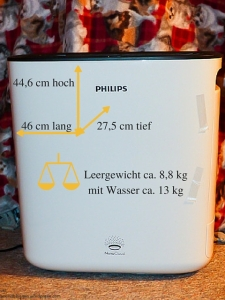 Philips Lufterfrischer Maße