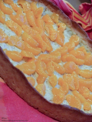 Mandarinen-Orangen-Tarte mit Bayernland Konditorcreme