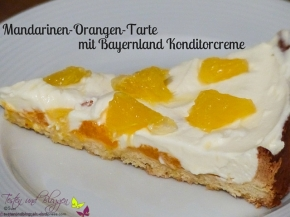 Mandarinen-Orangen-Tarte mit BayernlandKonditorcreme