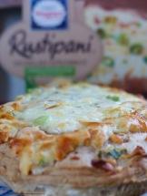 Wagner Rustipani Ofenbrot Tomate Hähnchenbrust Geräucherter Käse
