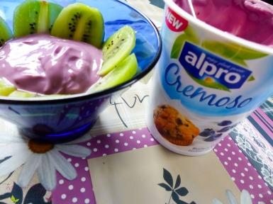 Alpro Cremoso Blaubeer Blueberry Muffin