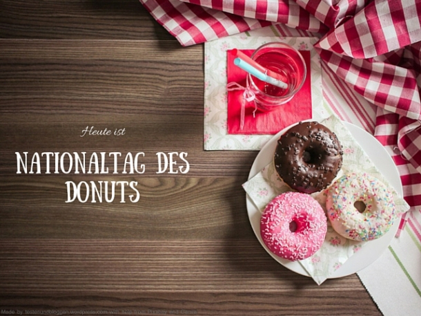 Nationaltag des Donuts