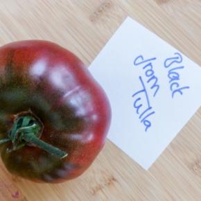 Tomatensorten: Black fromTula