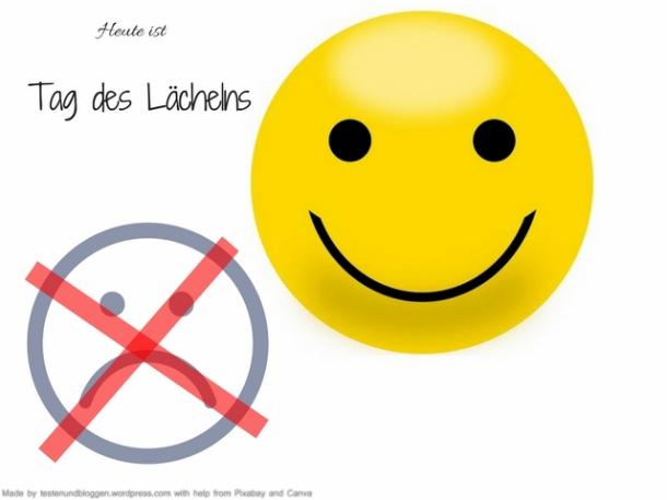 Heute ist Tag des Lächelns