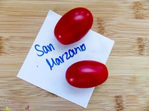Tomatensorten Mini San Marzano Ravello