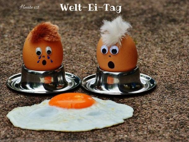 Heute ist Welt Ei Tag