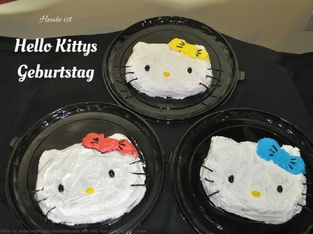 Hello Kittys Geburtstag
