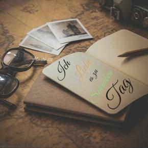 Heute ist: Ich liebe es zu schreibenTag