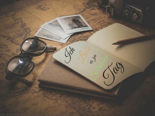 Ich liebe es zu schreiben Tag