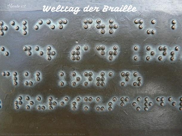 Welttag der Braille