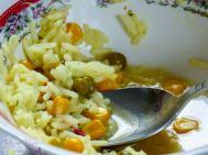 [Rezept] Zweierlei von Reis: Reissuppe und Reispfanne