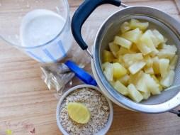 Porridge Kokos mit Ananas Ingwer Haferbrei Rezept