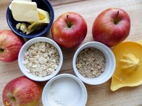 [Rezept] Apfel-Crumble mit Haferflocken ~ Die Alleskörner