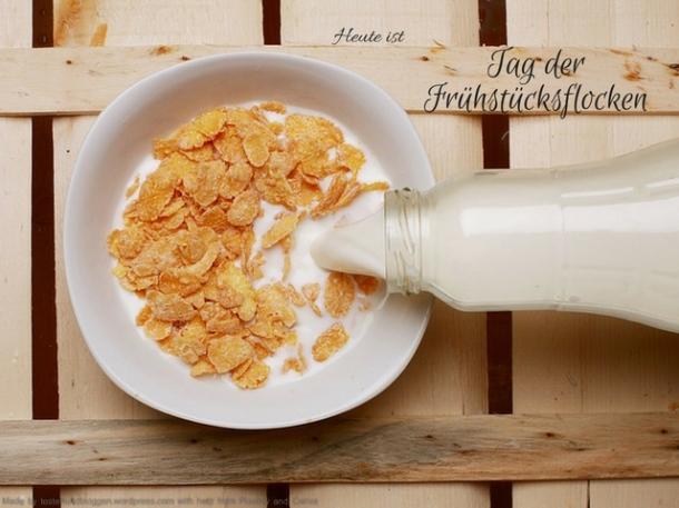 Tag der Frühstücksflocken