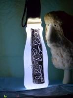 Basteln Plastikflaschen Deko Landliebe Acryllack