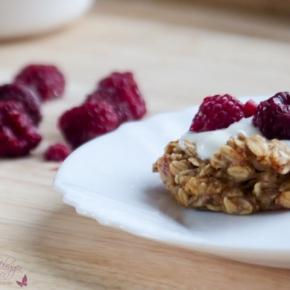 [Rezept] Haferflocken-Muffin mit Banane ~ DieAlleskörner