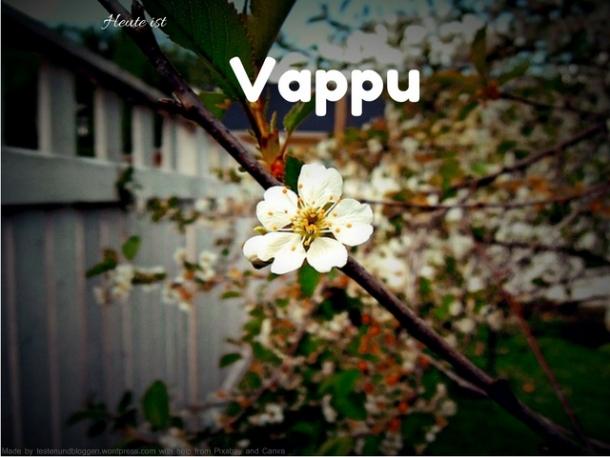 Heute ist Vappu - Finnisches Frühlingsfest