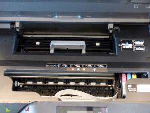 HP OfficeJet Pro 6960 Test Innenleben