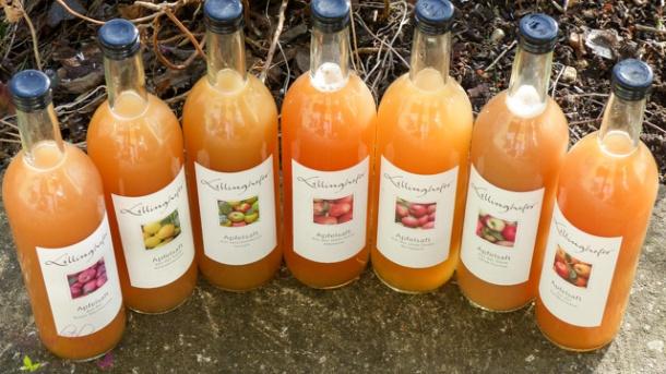 Lillinghofer Apfelsäfte - biologischer Genuss mit Geschmack