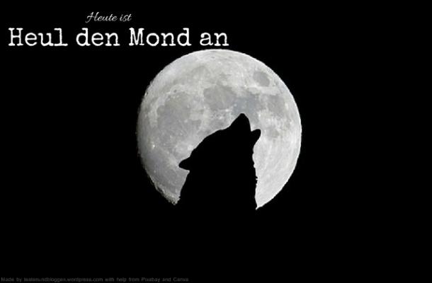 Heute ist: Heul den Mond an Tag