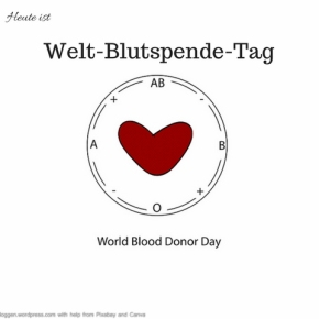 Heute ist: Weltblutspende-Tag