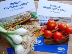 Meggle Knoblauchbrot Bruschetta Flammkuchen