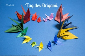 Heute ist: Tag desOrigami