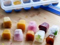 CLIP & CLOSE Eiswürfelform Frucht Säfte Milch Smoothies
