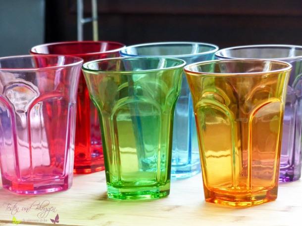 [Shorty] Bunte Trinkgläser für fröhlichen Gästeabend
