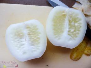 Gelbe Gurke Crystal Lemon (Cucumis sativus) imGartentest