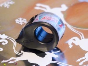 Tesafilm Mini Abroller für flexibles Einpacken